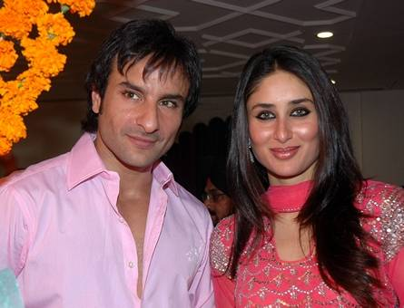 Saif Ali Khan and Kareena Kapoor are still very much in love