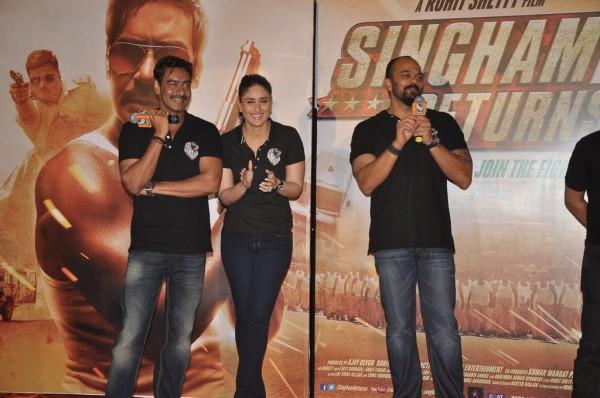 Singham Returns first look launch