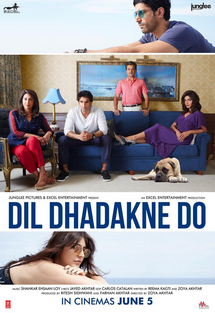 Dil dhadkne do poster
