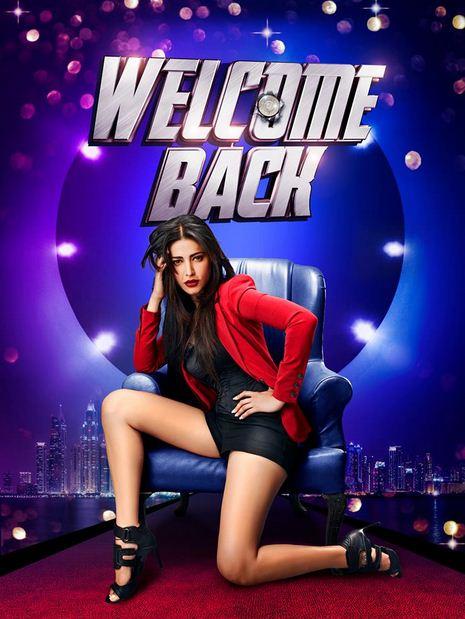 shruti haasan welcome back