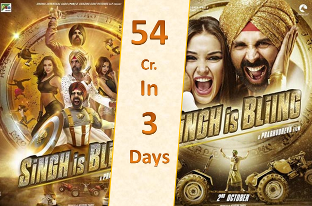 singh is bliing opening weekend
