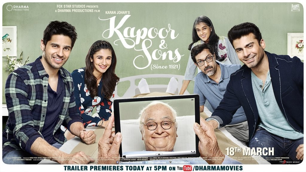 Kapoor & Sons (2016) DVDRIP 1CDRIP x264 AAC ESub [DDR Exclusive] [700 MB]